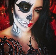 Day of the dead Make•Up for the fearless! Scary hasn't looked so ...awesome