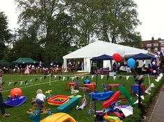 A creche station at a recent family fun day, Regent's College.