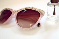 Glitter N Glue DIY Embellished Sunglasses