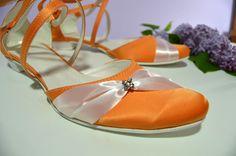 Svatební boty na nízkém podpatku ve stylu Sultana -  K-styl. svatební boty, svatební obuv, svadobné topánky, svadobná obuv, obuv na mieru, topánky podľa vlastného návrhu, pohodlné svatební boty, svatební lodičky, svatební boty na nízkém podpatku, nude boty, boty v telové barvě, svatební boty na nízkém podpatku, balerínky, pohodlné svatební boty, topánky vo farbe nude, oranžové svadobné topánky, oranžové svatební boty