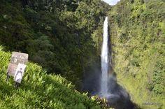 Akaka Falls on the Big Island of Hawaii.  My husband & I hiked it on our honeymoon.  Beautiful!!