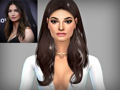 Hey guys, this is my version of Victoria's Secret model  Lily Aldridge as requested by a fellow simmer :) Let me know what you think and enjoy!  Found in TSR Category 'Sims 4 Young Adult Female Sims'