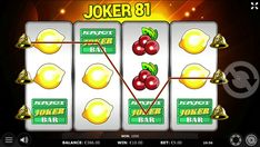 """You wanna know how it looks like when you win in our """"Joker 81 Go"""" game? It's BIG! If you also want to try your luck, go to our Kajot Casino website!"""