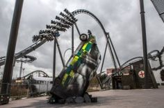 A summer of theme parks and rollercoasters! THORPE PARK – For thrill seekers