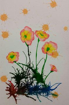Arte vegetal - Tintas vegetales