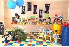 Festa bacana e divertida para meninos: Angry Birds por @jardimdealice  #kikidsparty