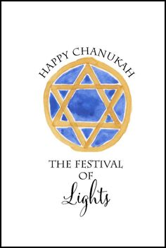 Happy Chanukah Free Printable from onsuttonplace.com