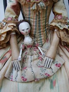 The Old Pretenders studio offers collectors the finest quality reproductions of English wooden dolls in the 17th and 18th century manner. Each one of a kind creation is handcrafted individually using traditional techniques