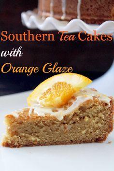 Tea Cake with Orange Glaze-Creole Contessa