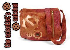 Scientist's Satchel steampunk messenger bag tutorial