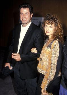 John Travolta & Kelly Preston, 1990