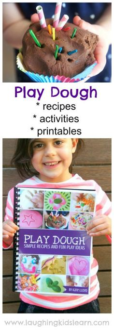 Simple Play Dough recipes and activities ebook with printables