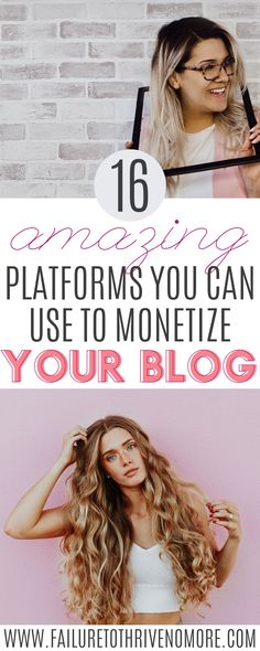 Learn how to monetize your blog with these amazing platforms | Did you know that you can make a full-time career out of blogging? Click to read how! #blogtips #makemoneyfromhome #makemoney #makemoneyblogging #bloggingtips #workfromhomeopportunities #workfromhomejobs #makingmoneyonline #monetizeyourblog #influencer #influencertips