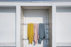 Cotton Throw Blanket in Golden Yellow, Siena Red & Trooper Blue Fair Trade Clothing, Sustainable Practices, Knitted Throws, Golden Yellow, Siena, Kids Wear, Linen Bedding, Wardrobe Rack, Organic Cotton