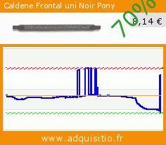 Caldene Frontal uni Noir Pony (Sport). Réduction de 70%! Prix actuel 8,14 €, l'ancien prix était de 27,00 €. https://www.adquisitio.fr/caldene/frontal-uni-noir-pony