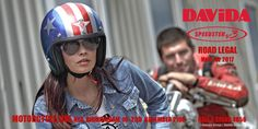 #Davida_UK_Ltd has been riding, engineering and manufacturing since 1975. Davida are proud to be the sole manufacturer of certified helmets in the UK. Every single Davida helmet is still hand made at their factory in Birkenhead using time honoured manufacturing techniques and craftsmanship.