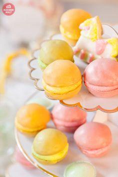 #Babyparty #Berliner #Macarons #Unisex #Mädchen #Junge #Rezept #Coppenrath und Wiese #sweet table #boy #girl #baby #recipe