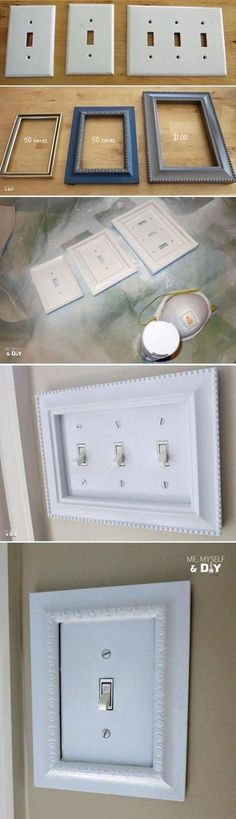 LIGHT FIXTURE: Cheap & quick upgrade