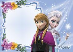 INSTANT DOWNLOAD - Disney Frozen Blank Invitations, Printable