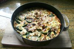 Tuna and cougertes fritata 2 by Luz Mendoza Patterns, via Flickr
