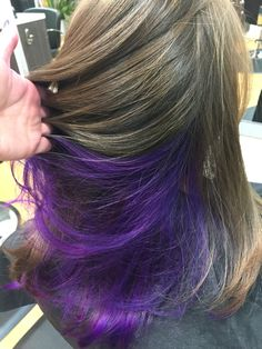 Purple underneath                                                                                                                                                     More