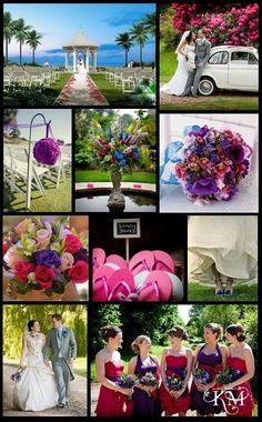 Royal Raspberry Wedding theme
