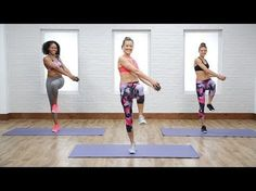 Burn 500 Calories in 45 Minutes With This Cardio and Sculpting Workout | Class FitSugar - YouTube