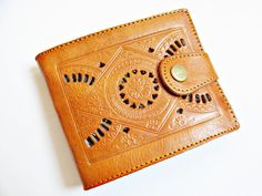 Alpha men women wallet slim wallet handmade wallet genuine leather boyfriend gift father gift by Astaboho on Etsy