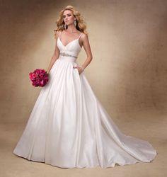 wedding dress with straps bridalcentre.com