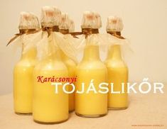 Karácsonyi tojáslikőr Alcoholic Drinks, Beverages, Hot Sauce Bottles, Holidays And Events, Food Art, Travel Photos, Drinking, Food And Drink, Cooking Recipes