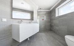 Limestone Light Grey - www.modernabad.se