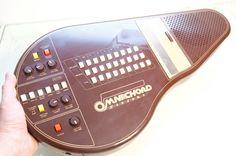 Vintage Brown Suzuki Omnichord Synthesizer OM27