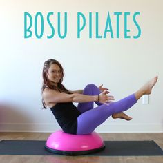Welcome to Week 3 of the#BOSUstrong Challenge! Today, I'm blending one of my favorite pieces of equipment with my passion of Pilates. This workout with tone everything, giving you sleek and sculpted muscles. As I've mentioned before, I really love how the BOSU challenges your balance and core strength, so it's the perfect addition into …