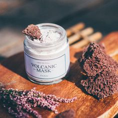 I'm From Volcanic Mask - Natural Korean Skin Care – Glow Recipe Korean Beauty Brands, Korean Skincare, Natural Skin Care, Candle Jars, Glow, Recipes, Soy Candles, Candle Mason Jars