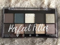 "NYX Perfect Filter Eye Shadow Palette in ""Gloomy Days"" 10 x .06oz   Health & Beauty, Makeup, Eyes   eBay!"