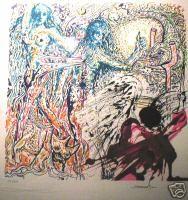 Dali - Paradise Lost lithograph