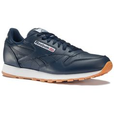 $27.00 Reebok Men's Classic Leather Gum Shoes dealfomo