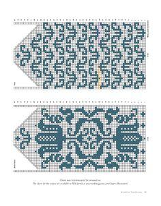 Cimdu raksti - Rokdarbu grāmatas un dažādas shēmas - draugiem. Crochet Mittens Free Pattern, Knitting Paterns, Knitting Charts, Knit Mittens, Knitted Gloves, Knitting Designs, Knitting Socks, Hand Knitting, Fair Isle Knitting