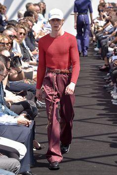Demna Gvasalia Makes A Bold Statement at Balenciaga's First-Ever Men's Runway Show