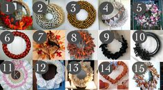 15 Wreaths to Decorate Your Home · Home and Garden | CraftGossip.com #wreath #Christmas # DIY