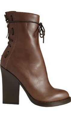 HAIDER ACKERMANN  Lace-Up Back Ankle Boot