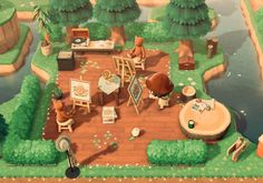 """""""I made a life drawing class on my island cause. my villagers need to learn the fundamentals of drawing Animal Crossing 3ds, Animal Crossing Villagers, Animal Crossing Qr Codes Clothes, Cute Animal Photos, Cute Animal Drawings, Drawing Animals, Animal Games, My Animal, Simple Illustration"""