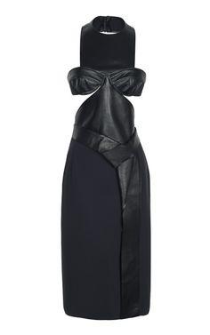 Facet Leather Dress by Dion Lee - Moda Operandi