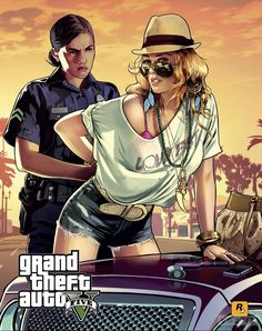 Getting arrested sexay style in GTA V!