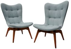 R152 Contour Chairs, Grant Featherston for Emerson Bros, Melbourne c.1952