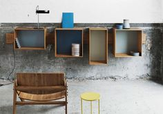 VARIO Materiale: Bamboo. Dimensioni: 4 scatole: 32x63x30, 49x49x31,5, 49x49x31,5, 55x36x28,5. Design: Sebastian Jørgensen & Henrik Thygesen per WE:DO:WOOD.