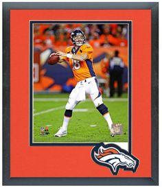 """Peyton Manning 2013 Denver Broncos - 11"""" x 14"""" Matted/Framed Photo"""