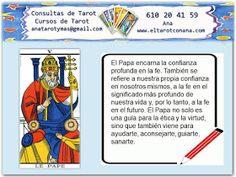 Aprende gratis Tarot: NOTAS DEL PAPA