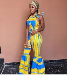 latest african fashion look 7882 African Inspired Fashion, African Print Fashion, Africa Fashion, Ethnic Fashion, Weird Fashion, African Print Dresses, African Fashion Dresses, African Dress, Ankara Fashion