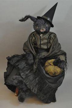 Wonderful witch rabbit by Lori Ann Corelis